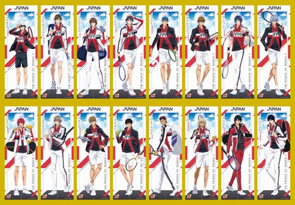 新テニスの王子様 キャラポスコレクション 8個入りBOX[エンスカイ]《05月予約》