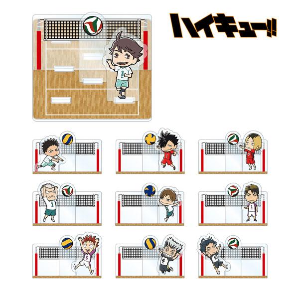 ハイキュー!! トレーディングジオラマ風アクリルスタンド Ver.B 10個入りBOX(再販)[アルマビアンカ]《在庫切れ》