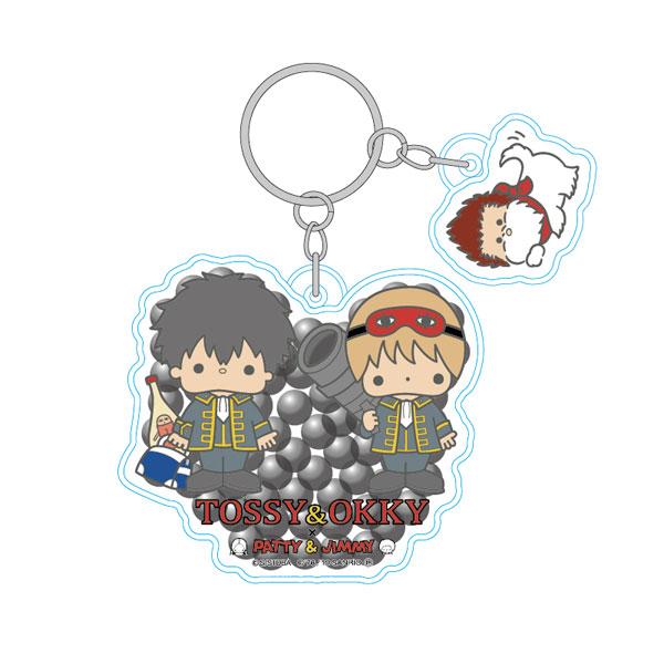 銀魂×Sanrio characters ジェルビーズキーホルダー 真選組[ツインクル]《発売済・在庫品》