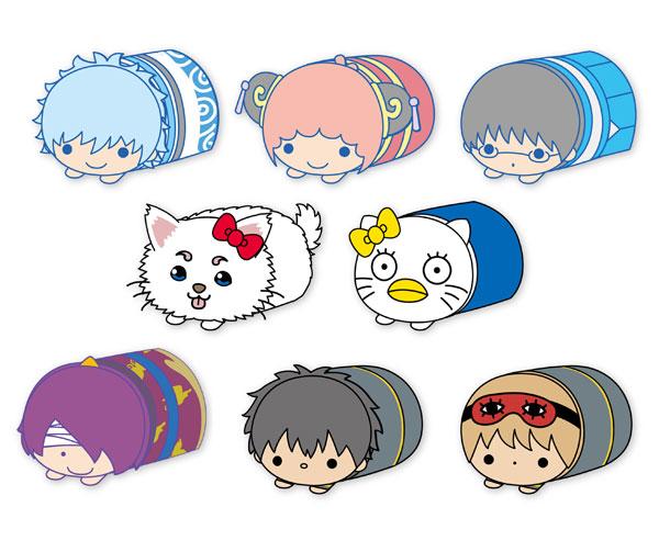 銀魂×Sanrio characters もちころりん 8個入りBOX[エイコー]《在庫切れ》
