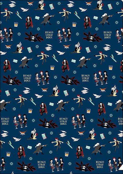 文豪ストレイドッグス クリアファイル/ゆるパレット 黒の時代[ムービック]《発売済・在庫品》