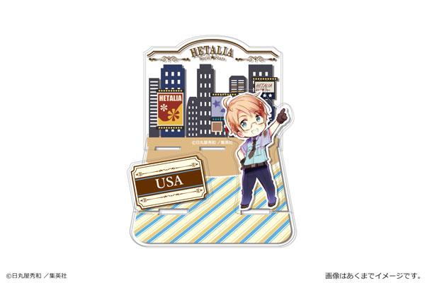 ヘタリア World★Stars アクリルジオラマスタンド 4 アメリカ[カナリア]《発売済・在庫品》