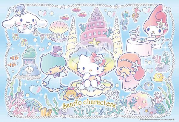 ジグソーパズル サンリオキャラクターズ 海のパーティ 300ピース (33-170)[ビバリー]《在庫切れ》