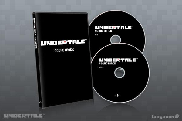 CD 「UNDERTALE」サウンドトラック(日本語版)[Fangamer]《発売済・在庫品》