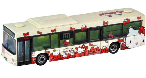 ザ・バスコレクション 北九州市交通局 ハローキティ バス2号車(リボンver.)[トミーテック]《発売済・在庫品》