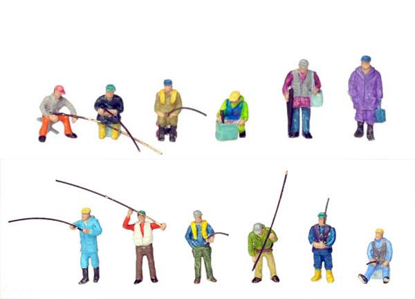 情景コレクション ザ・人間128 釣り人(再販)[トミーテック]《発売済・在庫品》