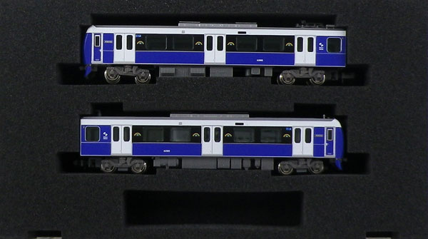 30837 静岡鉄道A3000形(エレガントブルー)2両編成セット(動力付き)[グリーンマックス]【送料無料】《在庫切れ》