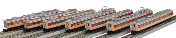 T030-2 国鉄 485系特急形車両 初期型「ひばり」 国鉄色 7両増結セット[ロクハン]【送料無料】《在庫切れ》