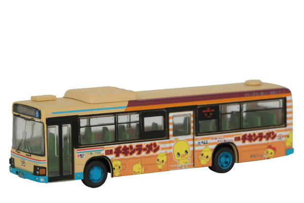 ザ・バスコレクション 阪急バス チキンラーメンひよこちゃんラッピングバスタイプ[トミーテック]《07月予約》