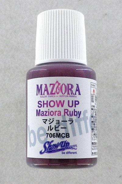 SHOW UP カスタムカラーシリーズ マジョーラ ジュエルコレクション ルビー マイクロボトル[シグナル]《発売済・在庫品》