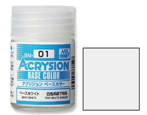 アクリジョン ベースカラー ベースホワイト[GSIクレオス]《発売済・在庫品》