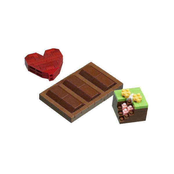 ナノブロック NBC_290 チョコレート[カワダ]《発売済・在庫品》