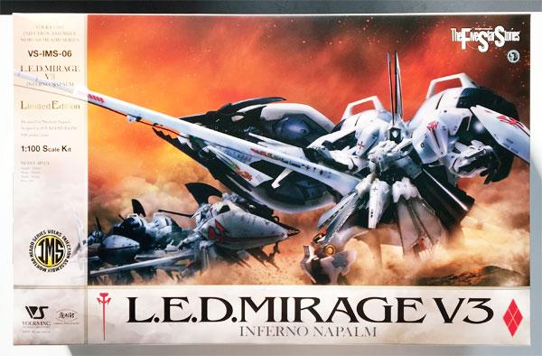 1/100 ファイブスター物語 L.E.D. ミラージュ V3 Limited Edition プラモデル