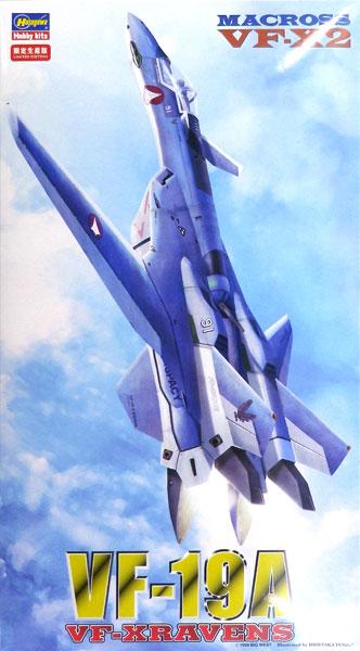 """マクロスVF-X2 1/72 VF-19A """"VF-X レイブンズ"""" プラモデル(再販)[ハセガワ]《取り寄せ※暫定》"""