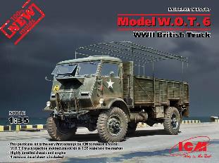 1/35 イギリス フォード W.O.T.6 トラック プラモデル[ICM]《02月仮予約》