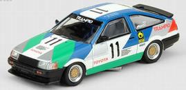 """1/64 トヨタ カローラ レビン AE86 #11 """"TRAMPIO"""" JTCC 1985[INNO Models]《03月予約》"""