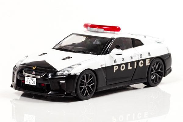 1/43 日産 GT-R (R35) 2018 栃木県警察高速道路交通警察隊車両[RAI'S]《02月予約》