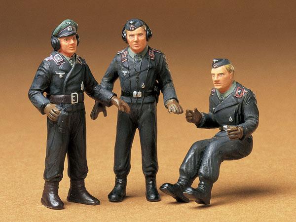 1/35 ミリタリーミニチュアシリーズ ドイツ戦車兵セット プラモデル(再販)[タミヤ]《02月予約》