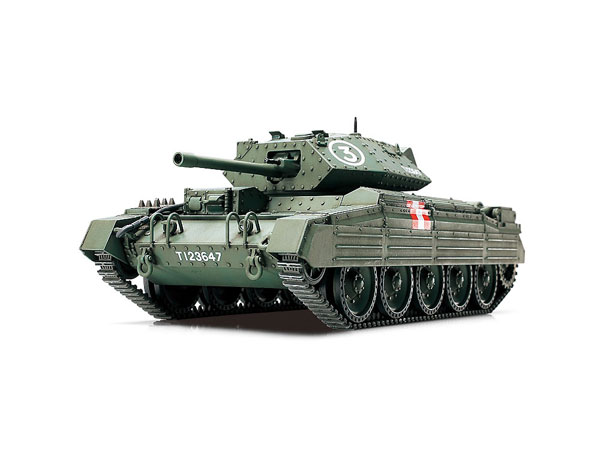 1/48 ミリタリーミニチュアシリーズ イギリス巡航戦車 クルセーダーMk.III プラモデル(再販)[タミヤ]《発売済・在庫品》