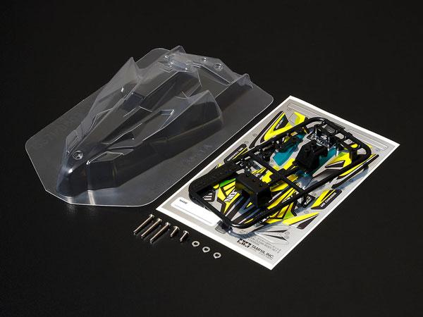 ネオファルコン クリヤーボディセットII [ミニ四駆特別企画](再販)[タミヤ]《発売済・在庫品》