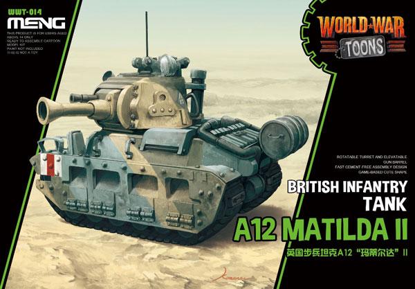 WWT イギリス歩兵戦車 A12 マチルダII プラモデル[MENG Model]《発売済・在庫品》
