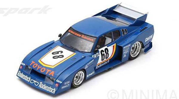 1/18 TOYOTA Celica LB Turbo No.68 Winner ADAC Trophy Zolder 1977 Harald Ertl[スパーク]《06月仮予約》