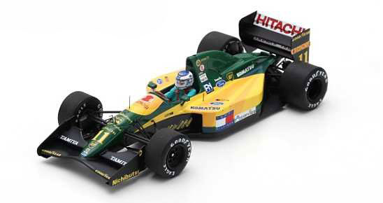 1/43 Lotus 107 No.11 French GP 1992 Mika Hakkinen[スパーク]《04月仮予約》