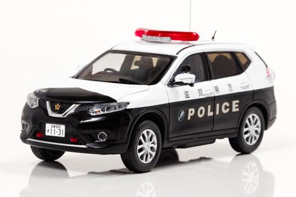 1/43 日産 エクストレイル (T32) 2017 滋賀県警察所轄署地域警ら車両[RAI'S]《発売済・在庫品》