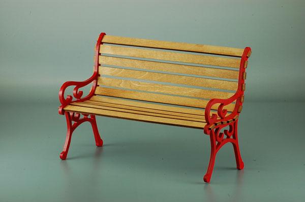 1/6ドールシリーズ 公園のベンチ[コバアニ模型工房]《取り寄せ※暫定》