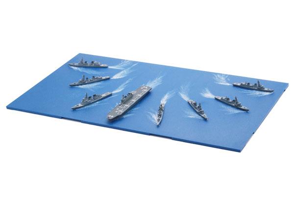 1/3000 集める軍艦シリーズNo.33 海上自衛隊第4護衛隊群 プラモデル[フジミ模型]《取り寄せ※暫定》