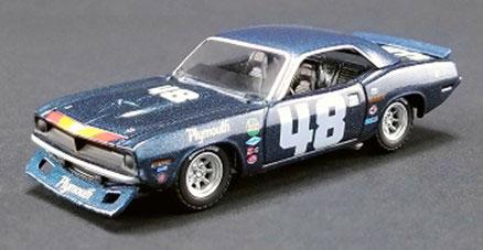 1/64 Dan Gurney's #48 1970 Plymouth Trans Am Cuda[ACME]《06月仮予約》