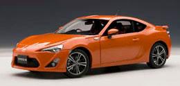 1/18 ベストプライスシリーズ トヨタ 86 GTリミテッド (日本仕様/右H) (オレンジ・メタリック)[オートアート]《在庫切れ》