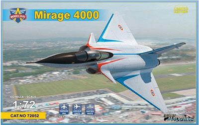 1/72 仏・ダッソー・ミラージュ4000試作戦闘機 プラモデル[モデルズビット]《04月予約》