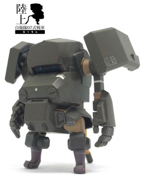 陸上自衛隊07式戦車なっちん プラモデル[cavico models]《発売済・在庫品》