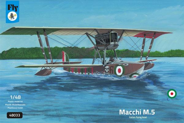 1/48 マッキM5 戦闘飛行艇 「イタリア王立海軍」 プラモデル[フライ]《04月予約》