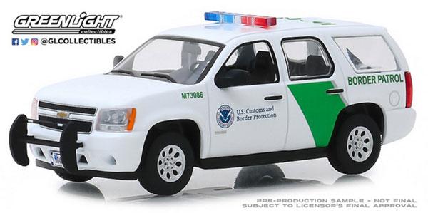 1/43 2010 Chevrolet Tahoe - U.S. Customs and Border Protection Border Patrol[グリーンライト]《在庫切れ》