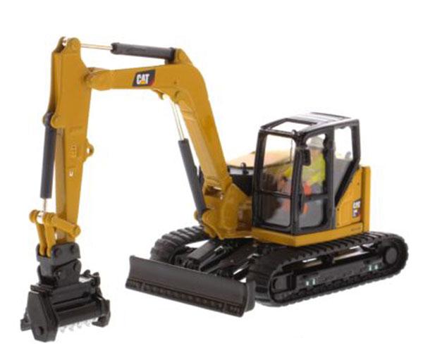 1/50 ハイラインシリーズ Cat 309CR 小型油圧ショベル[Diecast Masters]《在庫切れ》