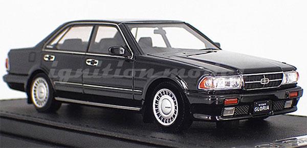 1/43 Nissan Gloria (Y31) Gran Turismo SV Black[イグニッションモデル]《10月予約》