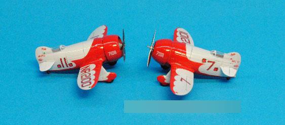 1/144 ジービー R1 & R2 レース機 「2イン1」 (2機入り) プラモデル[DORA WINGS]《発売済・在庫品》