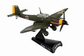 1/110 ユンカース Ju 87 Stuka ドイツ空軍[ポステージスタンプ]《在庫切れ》