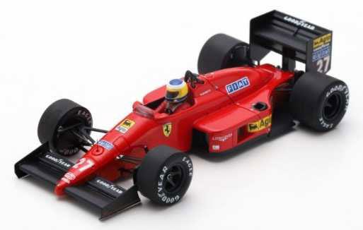 1/43 フェラーリ F1/87 No.27 3rd Monaco GP 1987 Michele Alboreto[ルックスマート]《06月仮予約》