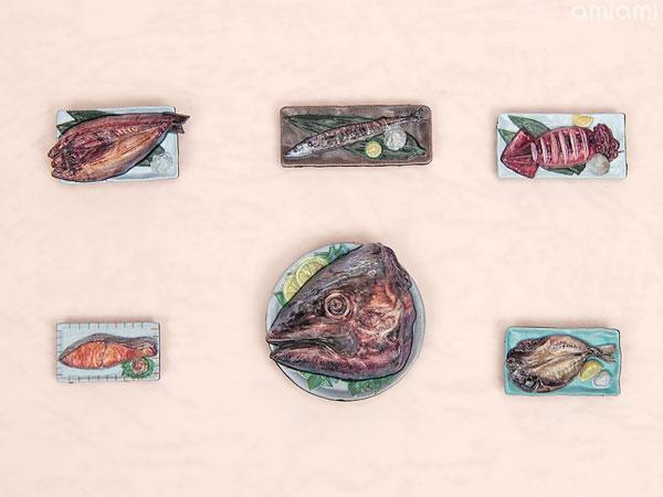 フィギュアのごはん Vol.2  1/12 彩色済プラモデル[エムアイシー]《04月予約》