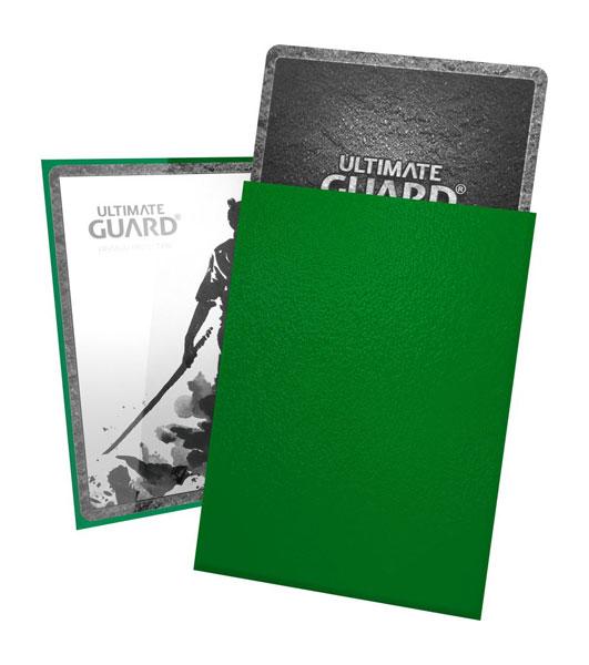 KATANA Sleeves Standard Size Green (100)(緑)[アルティメットガード]《在庫切れ》