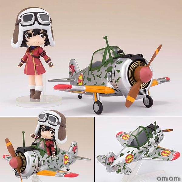 Figuarts mini キリエ&隼一型 (キリエ仕様) 『荒野のコトブキ飛行隊』[BANDAI SPIRITS]《08月予約》