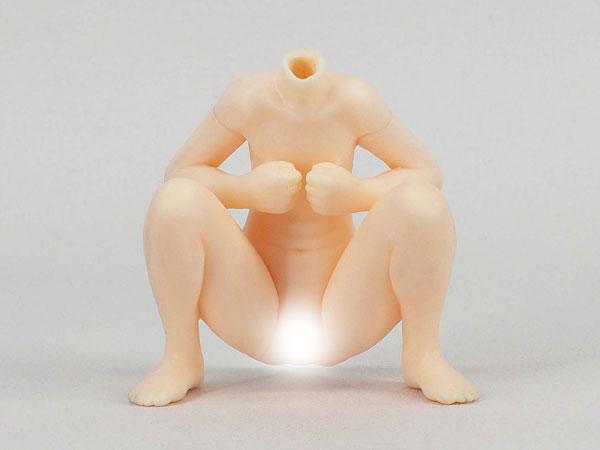 1/12 エロ素体組立キット(ボディのみ) No.15『お砂場座位』(組み立て/塗装/加工が必要)[DF研]《在庫切れ》