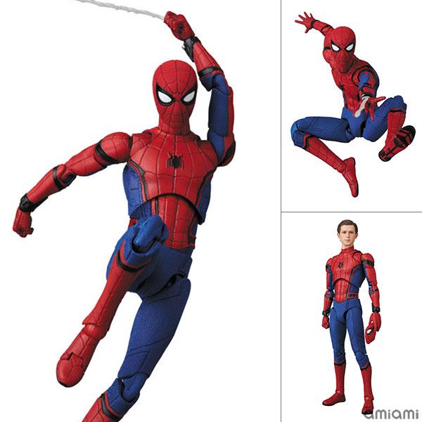 マフェックス No.103 MAFEX SPIDER-MAN(HOMECOMMING Ver.1.5) 『SPIDER-MAN HOMECOMMING』[メディコム・トイ]《01月予約》