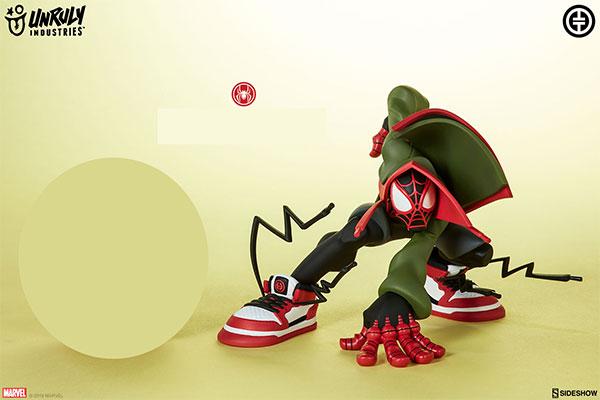 『マーベル・コミック』デザイナー・トイ アンルーリー・インダストリーズ マイルス/スパイダーマン[サイドショウ]【送料無料】《在庫切れ》