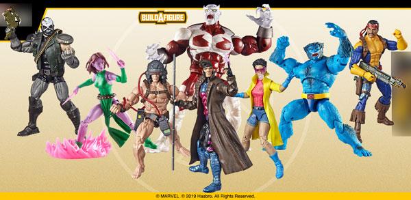 マーベル・コミック ハズブロ 6インチ「レジェンド」X-MEN シリーズ4.0 8個入アソートカートン[ハズブロ]【同梱不可】【送料無料】《在庫切れ》