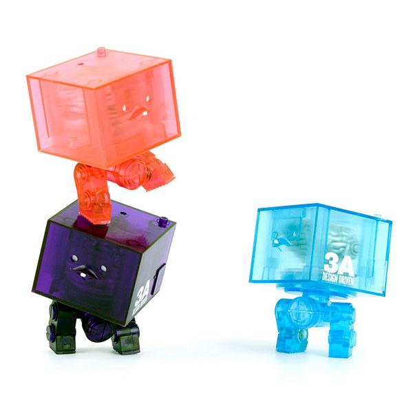 World War Robot(ワールド・ウォー・ロボット) 3AGO Clear Square R1 Set(クリア・スクウェアR1・セット)[スリー・エー]《在庫切れ》