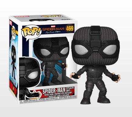 POP! 『スパイダーマン:ファー・フロム・ホーム』スパイダーマン(ステルス・スーツ版)[ファンコ]《発売済・在庫品》